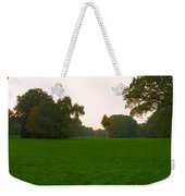 Late Afternoon In The Park Weekender Tote Bag