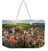 Late Afternoon Light On Staithes Weekender Tote Bag