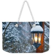 Late Afternoon Snow Weekender Tote Bag
