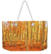 Late Autumn In Calabria Weekender Tote Bag