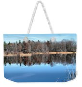 Late Autumn Reflections Weekender Tote Bag