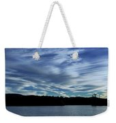 Late Day Clouds Over Mountainss Weekender Tote Bag