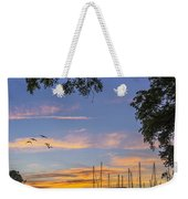 Late Evening On The Cove Weekender Tote Bag