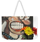 Late For A Date Weekender Tote Bag