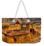 Late For The Rush Weekender Tote Bag