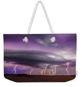 Late July Storm Chasing 086 Weekender Tote Bag