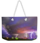 Late July Storm Chasing 087 Weekender Tote Bag
