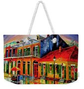 Late On Bourbon Street Weekender Tote Bag