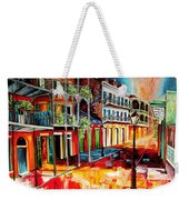 Late On Royal Street Weekender Tote Bag