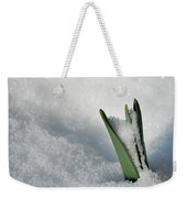 Late Snow Weekender Tote Bag