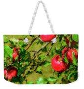 Late Summer Apples Weekender Tote Bag