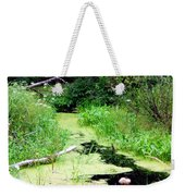 Late Summer At The Creek Weekender Tote Bag