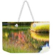 Stillness Of Late Summer Marsh  Weekender Tote Bag