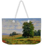 Late Summer Pastoral Weekender Tote Bag