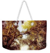 Late Summer View Of Sky And Trees Weekender Tote Bag