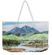 Late Winter In California Weekender Tote Bag