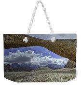 Lathe Arch Between Storms Weekender Tote Bag