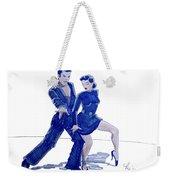 Latin Ballroom Weekender Tote Bag