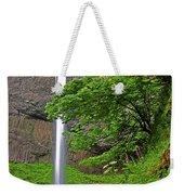 Latourell Falls Oregon Weekender Tote Bag