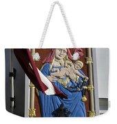 Latvia, Riga, Virgin Mary And Jesus Weekender Tote Bag