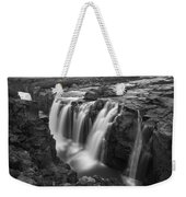 Laugafell Mountain Lodge Waterfalls 3155 Weekender Tote Bag