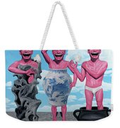 Laugh Heartily Weekender Tote Bag