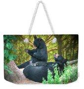 Laughing Bears Weekender Tote Bag