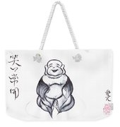 Laughing Buddha Weekender Tote Bag
