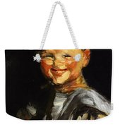Laughing Child 1907 Weekender Tote Bag