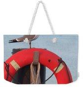 Laughing Gull At Lewes Weekender Tote Bag