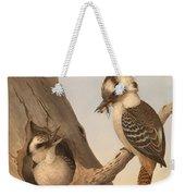 Laughing Kookaburra Weekender Tote Bag