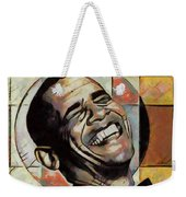 Laughing President Obama Weekender Tote Bag