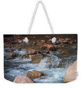 Laughing Water Weekender Tote Bag