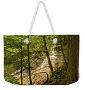 Laughing Whitefish Falls 2 Weekender Tote Bag
