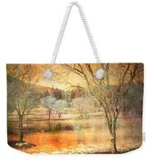 Laughter Amongst Trees Weekender Tote Bag