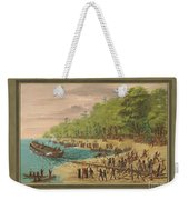 Launching Of The Griffin.  July 1679 Weekender Tote Bag