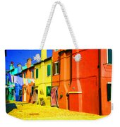 Laundry Between Chimneys Weekender Tote Bag