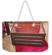 Laundry Crate Weekender Tote Bag