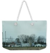Laundry Day At The Dairy Farm Weekender Tote Bag