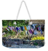Laundry Drying In The Wind Weekender Tote Bag