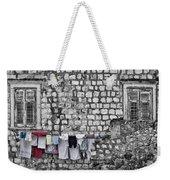 Laundry Line - Dubrovnik Croatia #3 Weekender Tote Bag