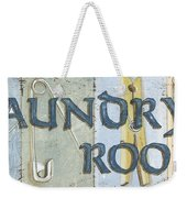 Laundry Room  Weekender Tote Bag by Debbie DeWitt