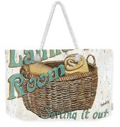 Laundry Room Sorting It Out Weekender Tote Bag