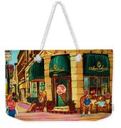 Laura Secord Candy And Cone Shop Weekender Tote Bag
