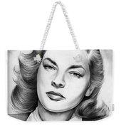 Lauren Bacall Weekender Tote Bag