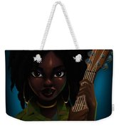 Lauryn Hill Weekender Tote Bag by Nelson Dedos Garcia