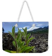 Lava And Villa Rica Volcano Weekender Tote Bag