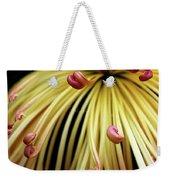 Lava Chrysanthemum Weekender Tote Bag