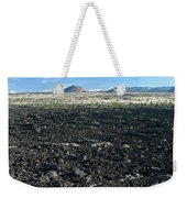 Lava Flow And Schonchin Butte, Lava Beds Nm, California, Usa Weekender Tote Bag