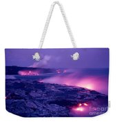 Lava Flows To The Sea Weekender Tote Bag